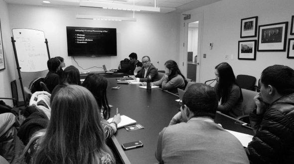 Dan Smyer talk room pic